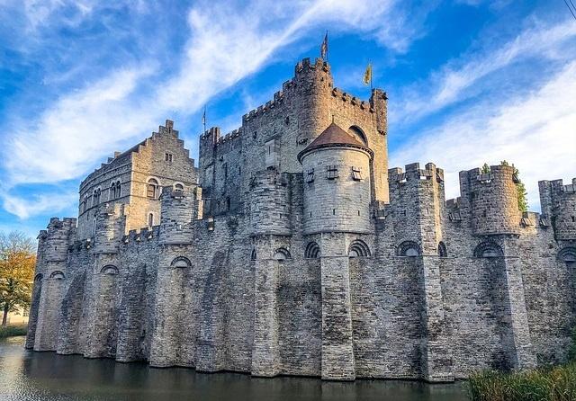 Castillo-Gravensteen-Gante-Belgica