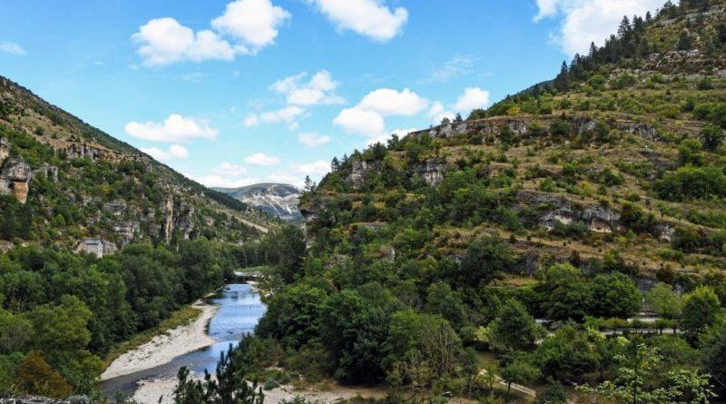 19 sitios para practicar piragüismo en las gargantas del Tarn
