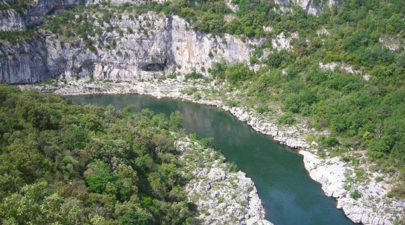 21 sitios para piragüismo en Ardèche