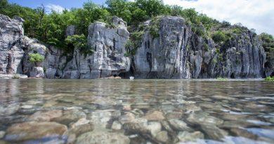 9 lugares para practicar barranquismo en Ardèche