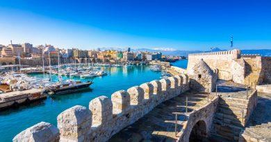 Quel est le prix d'une location de bateau à Héraklion ?