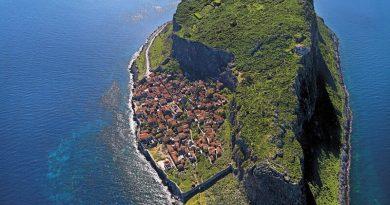 Monemvasia y su roca, Gibraltar griego